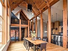 Furniture Repair San Francisco Aspen Ski Lodge Dining Room Rustic With High Ceilings Upholstery