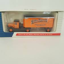 100 Southwest Truck And Trailer AHL Yellow Transit Co Mack BM 164 Scale Diecast