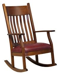 Amish Mission Solid Wood Rocking Chair