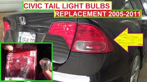 honda civic light bulb rear turn signal light and brake light