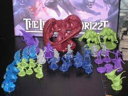 Dungeons Dragons Legends Of Drizzt Board Game Miniatures