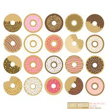 Mini Donut Clipart Clip Art Images 3951