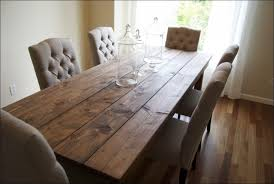 Dining Room Amazing Diy Rustic Kitchen Table Dinner