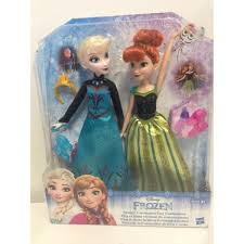 StrawBerry TaGs Disney Frozen Stuffs Part 3 Anna Elsa Dolls