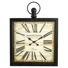 Wayfair Decorative Wall Clocks by Aspire Home Accents Olivia Wall Clock Walmart Com