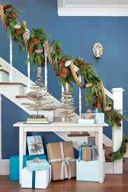 60 Best Christmas Garland Ideas - Decorating With Holiday Garlands Christmas Decorating Ideas For Porch Railings Rainforest Islands Christmas Garlands With Lights For Stairs Happy Holidays Banister Garland Staircase Idea Via The Diy Village Decorations Beautiful Using Red And Decor You Adore Mantels Vignettesa Quick Way To Add 25 Unique Garland Stairs On Pinterest Holiday Baby Nursery Inspiring The Stockings Were Hung Part Staircase 10 Best Ideas Design My Cozy Home Tour Kelly Elko