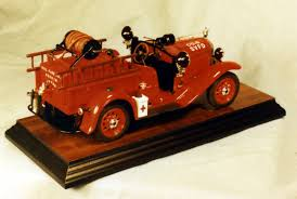 100 Model Fire Truck Kits MAFCA Member Built Hubley Cars