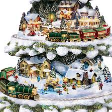 Christmas Tree Amazon by Thomas Kinkade Wonderland Express Christmas Tree With Lights