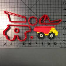 100 Fire Truck Cookie Cutter Custom Made 3D Printed Traffic Tools Train