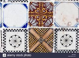 Neapolitan Riggiola Typical Old Tile Made Of Marble Chips For Floor