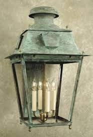 ellis square crafted copper wall lantern traditional copper