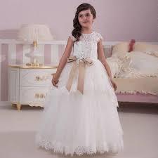 popular short white dresses for first communion buy cheap short