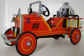 Pedal Car 1920s Ford Fire Engine Red Truck Vintage Midget Metal ... 60sera Fire Truck Pedal Car Blue Moon Fall Auction Owls Head Transportation Museum Rare Lg Pedal Firetruck Wbadge On Rear Niwot Ride On Firetruck The Land Of Nod Ornament 3d 24kt Gold Plated White House Gift Gearbox Volunteer Riding 124580 Limited Edition 19072999 Engine No 8 Collectors Weekly Wheres Fire Truck Pedal Car Gear Richard Hall 1927 Gendron Kids Showtime Services Novelty Toy 39 Long Complet By Insteprideon Youtube