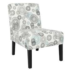 Homegear Home Furniture Accent Armless Chair - Contemporary Designs -  Mechanical Gears