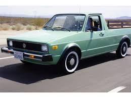 100 Rabbit Truck 1980 Volkswagen Pickup For Sale ClassicCarscom CC1017338