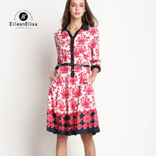 popular red flower dresses buy cheap red flower dresses lots from