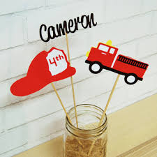 Fire Truck Party Centerpiece   Fire Truck And Fireman Birthday ... Dalmatian Fire Truck Cake En Mi Casita Bed Engine Themed Bedroom Wall Decor Ideas Birthday Parties Theme All Decorations Are Fondant Client This Is The That I Made For My Sons 2nd Food And Girly Pink Cakes Decoration Little Fireman Party Toddler At In A Box 9 Albertsons Bakery Photo Lego Debuts New 1166piece Winter Village Station To Get You Christmas Ii To