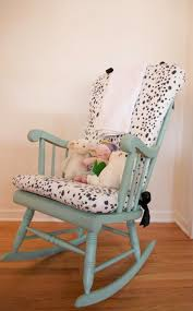 Nursery: Exceptional Comfort Make Ideal Choice With Rocking Chair ...