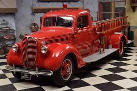 1938 Ford F3 Pickup - Fire Truck / Feuerwehr Classic Car For Sale-EN