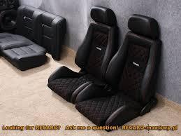 siege auto monza recaro autoblog heated recaro seats are also an option now