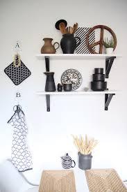 küchenregal dekorieren einrichten design dots