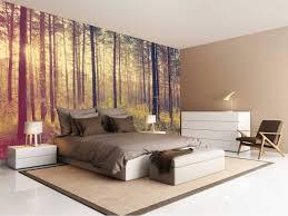 fototapete wald im schlafzimmer ideen für wundervolle