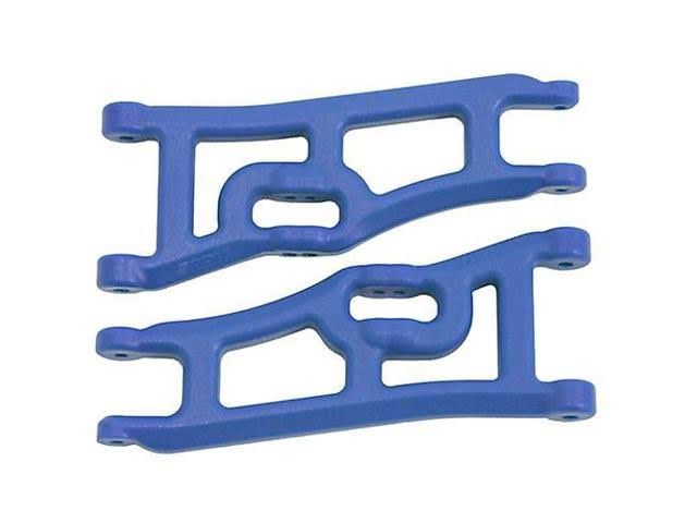 Rpm 70665 Wide Front A-arms - Rustler Stampede, Blue, 2wd
