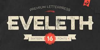 Fontspring Letterpress Studio Fonts By Fenotype