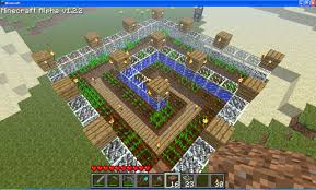 Minecraft Circle Floor Designs by What Is The Optimum Pattern To Place Crops In Minecraft Arqade