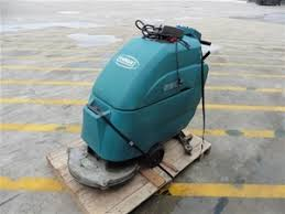 walk behind floor scrubber tennant 5300 model 603053 pooraka