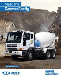 100 Concrete Truck Capacity Daewoo S SA On Twitter For Extra Fast Unloading Of