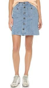 joie healy b denim skirt shopbop