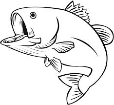Fish black and white milk fish clipart black and white clipartfox 2