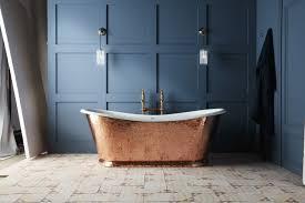 wye große badewanne aus gusseisen kupfer