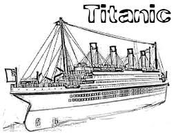Download Coloring Pages Titanic For Imgimg Drawing
