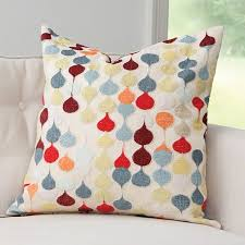 Julia Buckingham For Global Views Raindrop Pillow I Love To See My Signature Pattern In A Smaller Dose Of Color When Sophisticated Yet Playful