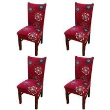 4er pack esszimmer stuhlhülle stretch stuhlhülle hohe rückenlehne stuhl überzug