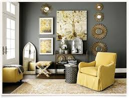 Yellow Grey Living Room Decor And Gray Ideas