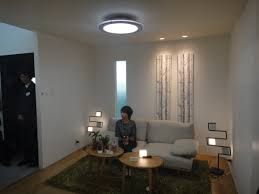 spectacular led ceiling lights new design with two fan to adorn