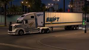 Swift Transport Box Long Trailer Skin - ATS Mod | American Truck ... Swift Transportation Peterbilt 579 A Grey Flickr Federal Judge Deals Legal Setback Wsj Has A New Idea To Attract Drivers Pays For College Tuition Southern New 4 Axle Freightliner Columbia Daycab Delivering Loads Car Trailer On Bridge The Truckers Forum Working At Zippia Swift Transportation Kenworth W900 Skin Updated Mod American Cascadia Evolution Truc Knightswift Sees Steady Revenue Rise As Mger Efforts Continue Gloucester Virginia January 28 2015 Stock Photo Edit Now