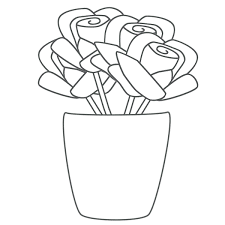 Roses Coloring Pages To Print Hearts And Sheets Amy Rose Full Size