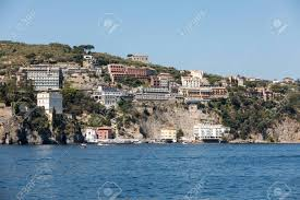 100 Houses In Sorrento Italy June 13 2017 View Of Houses And Hotels On