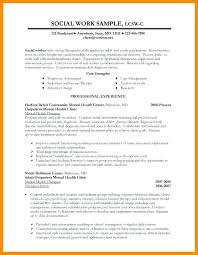 Social Worker Resume Example Work Resumes 3 Sample