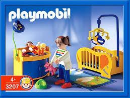 playmobil chambre bébé 9a maison moderne interieur 3207 maman chambre de bébé photo