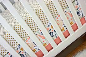 Teal And Coral Baby Bedding by Girls Crib Bedding Coral Navy Mint Crib Coral Navy Cribset