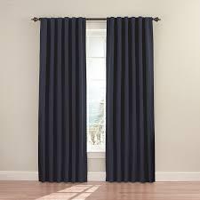 Absolute Zero Curtains Walmart by Amazon Com Eclipse 11353052x084dkb Fresno 52 Inch By 84 Inch