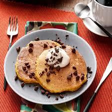 Pumpkin Pancakes W Bisquick by Pumpkin Pancakes Recipe Taste Of Home