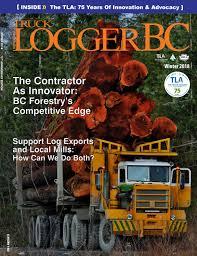 100 Ralph Smith Trucking Truck LoggerBC Winter 2018 Volume 40 Number 4 By Truck