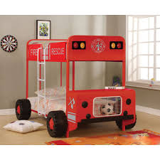 100 Fire Truck Loft Bed Toddler Costco
