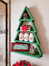 Learn How To Make A Beautiful Christmas Tree Shelf